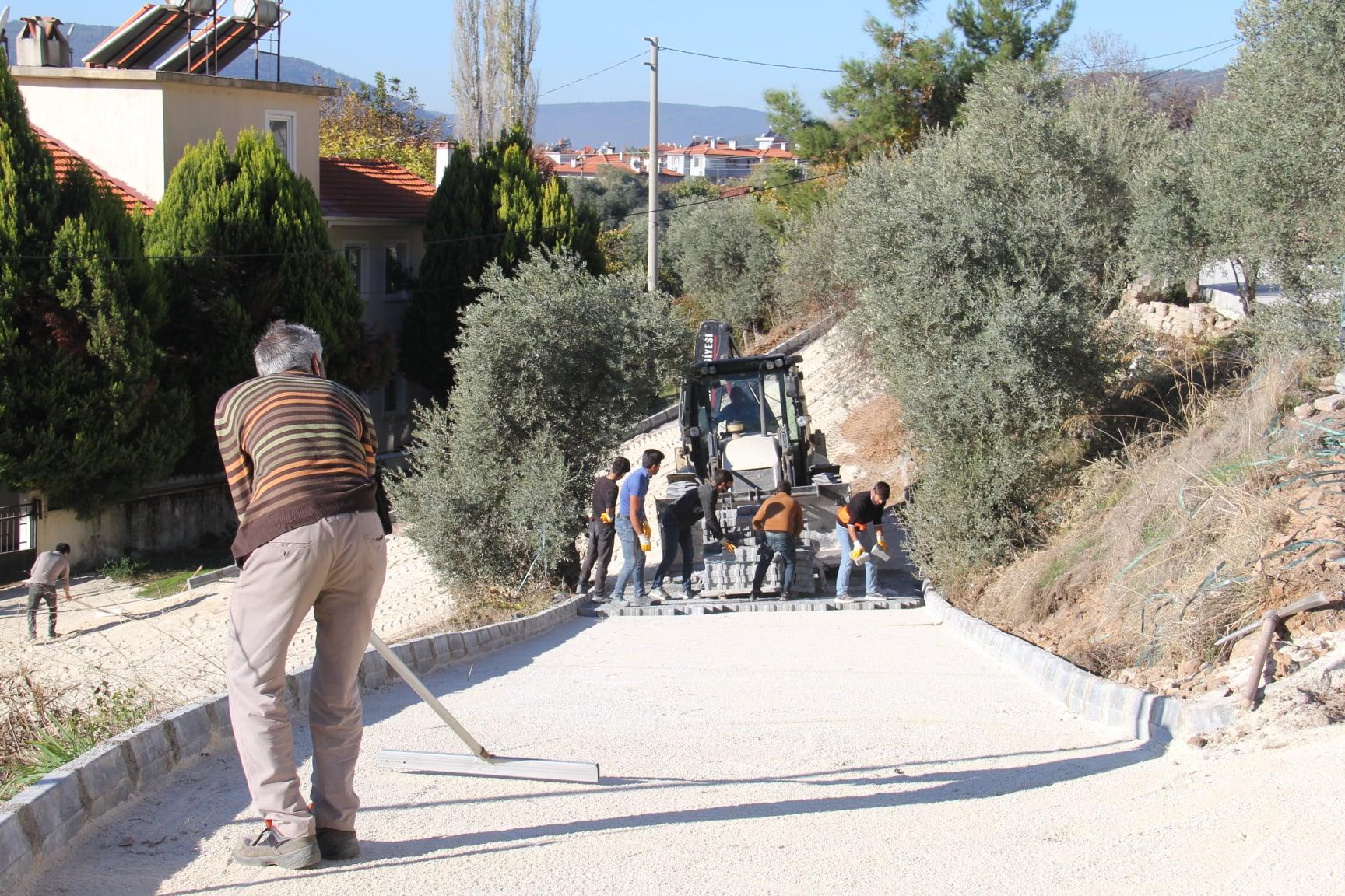 Ayazkıyı Mahallemiz Umutkent Caddesinde 4000 m²'lik Parke Çalışmaları Tamamlandı