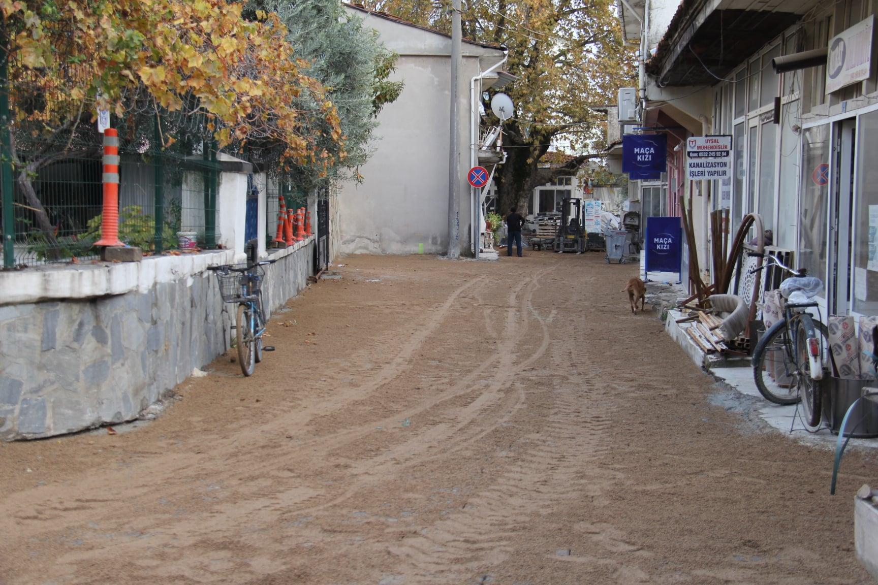 Ula Merkez, Demirtaş Mahallesi Hükümet Caddesinde Parke Döşeme Çalışması Tamamlandı
