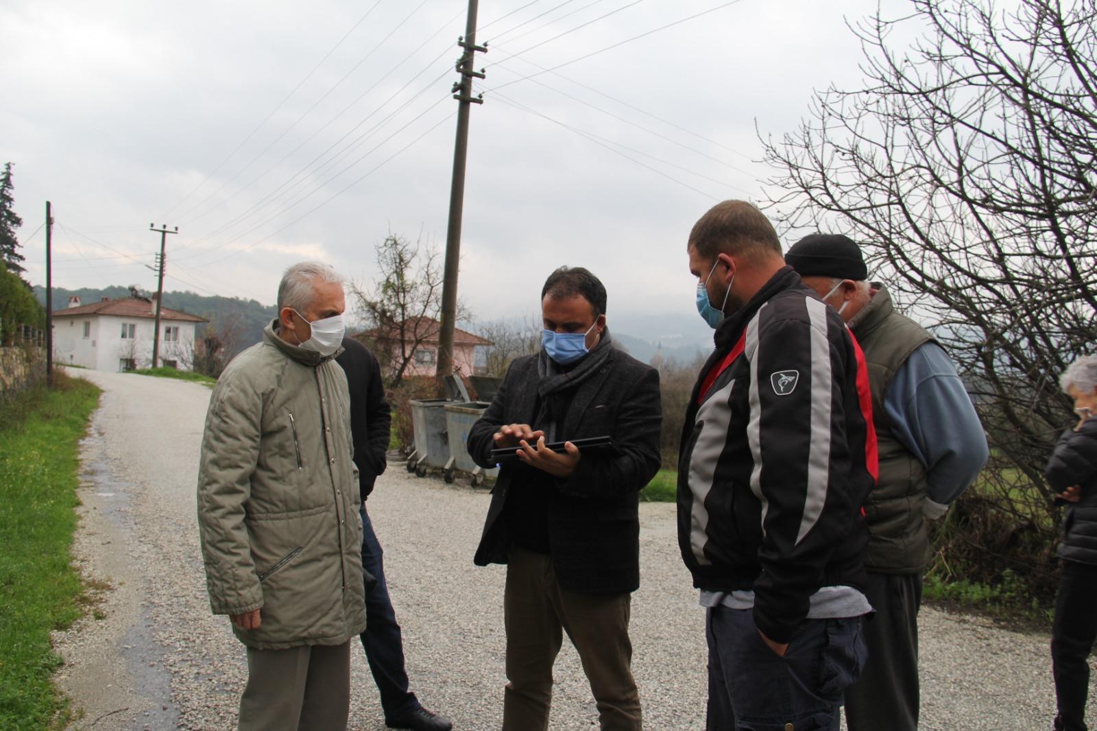 Belediye Başkanımız Sn. Özay Türkler Ataköy mahallemize ziyarette bulundu.