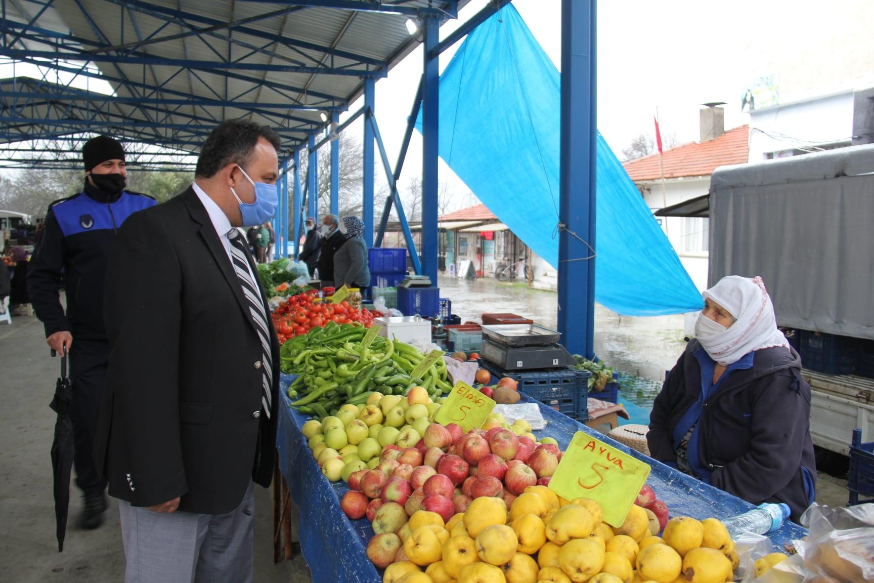 Belediye Başkanımız Sn. Mimar Özay Türkler Kızılyaka Mahallemizde Muhtarımızla Birlikte İncelemelerde Bulundu