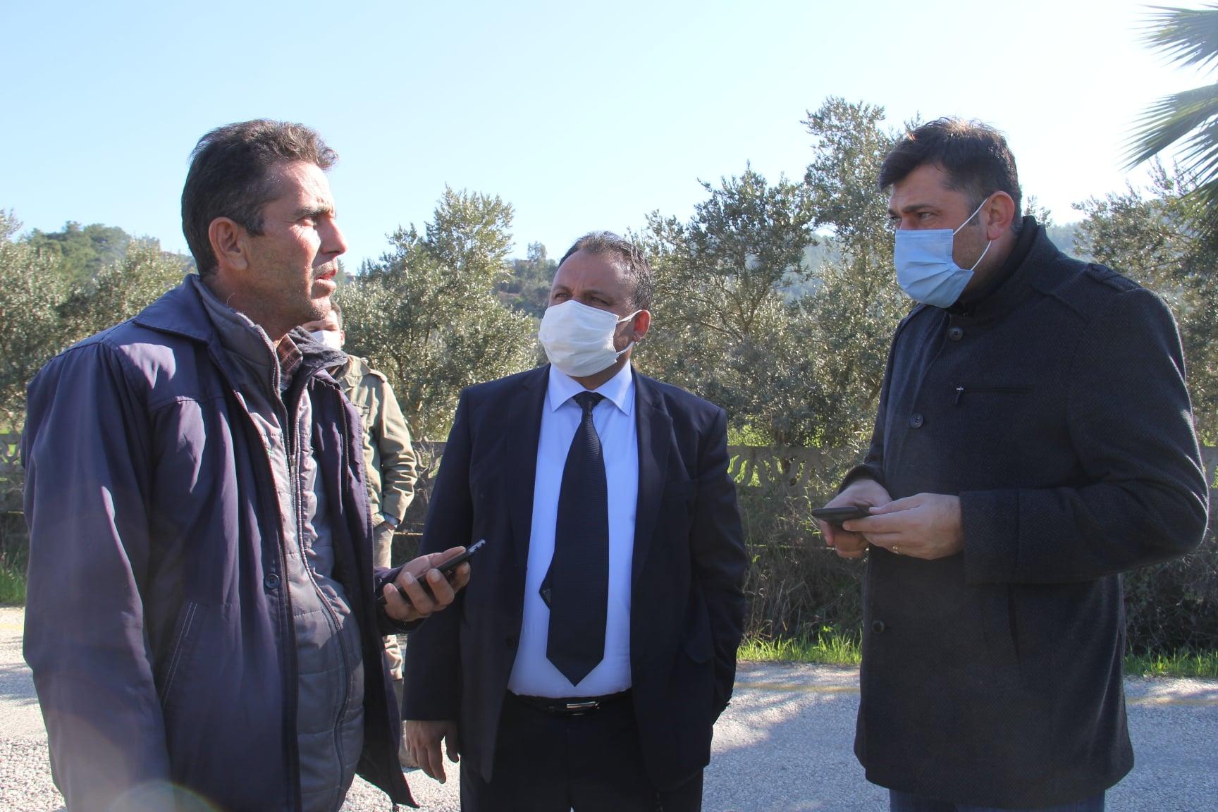 Belediye Başkanımız Sn. Özay Türkler Şirinköy Mahallemizde Muhtarımızla Birlikte İncelemelerde Bulundu
