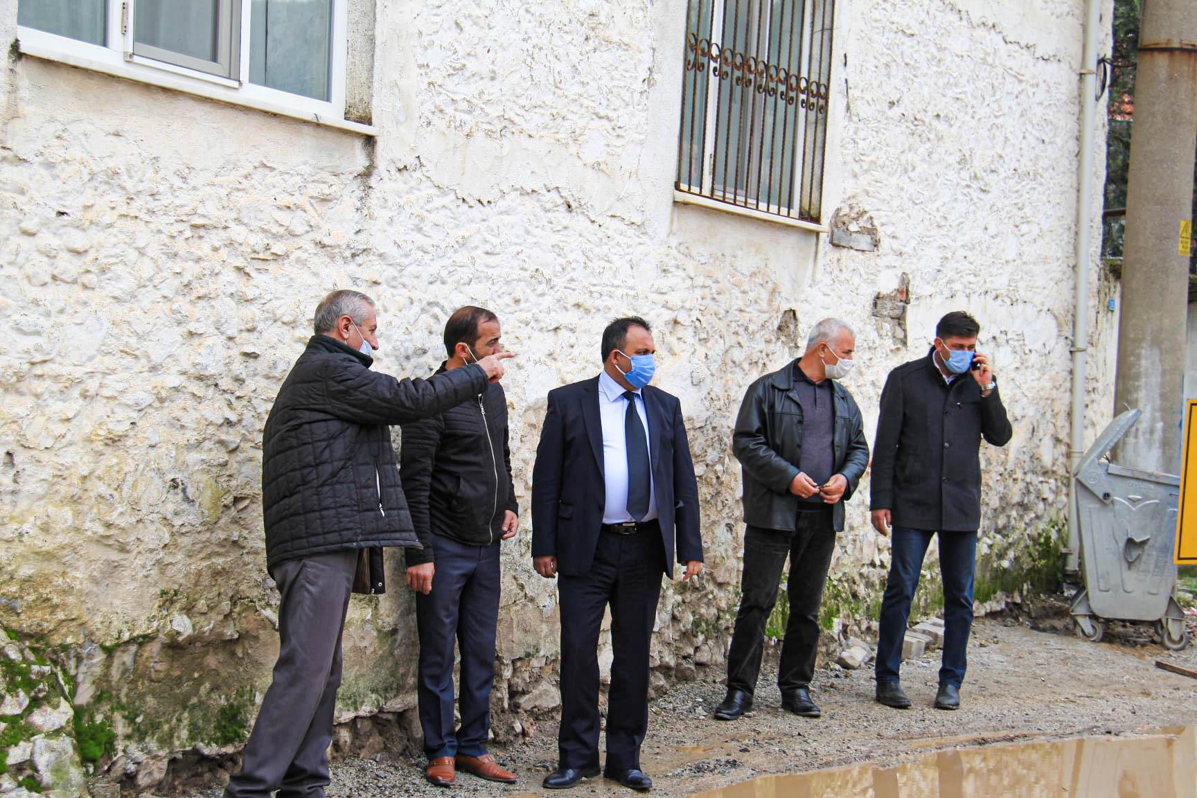 Başkanımız Sn. Özay Türkler Alpaslan Mahallesi'nde İncelemelerde Bulundu