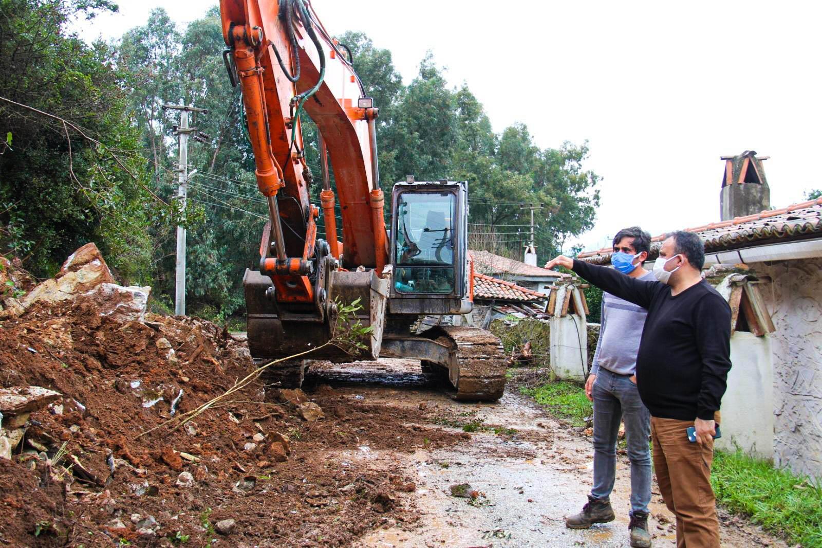 Belediye Başkanımız Çıtlık Mahallemizdeki Çalışmaları İnceledi
