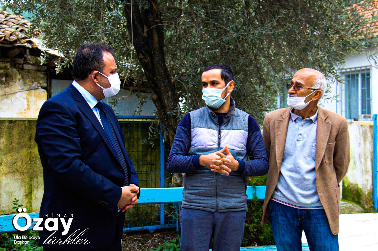 Belediye Başkanımız Sn. Mimar Özay Türkler Karabörtlen Ve Örnekköy Mahallelerimizde Esnaf Ve Hemşehrilerimizi Ziyaret Etti