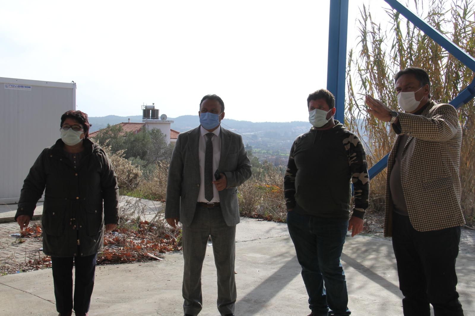 Belediye Başkanımız Demirtaş Mahallesinde Devam Eden Kilitli Parke Çalışmalarını İnceledi