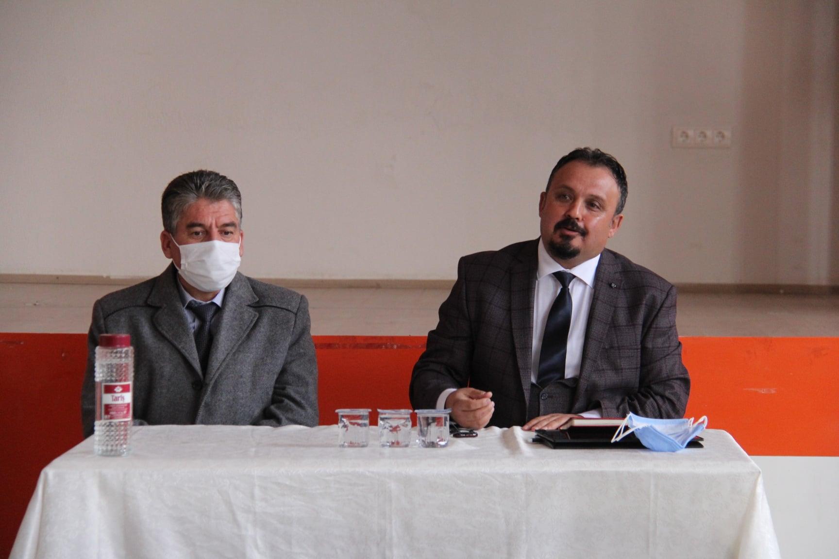 Belediye Başkanımız Mimar Sn. Özay Türkler Muhtarlarımızla Toplantı Düzenledi