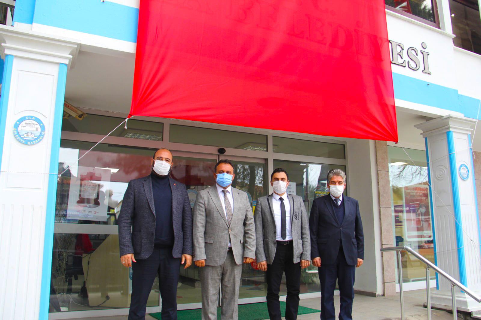 Ak Parti Datça İlçe Başkanı Sn. Fatih Keleş ve Ak Parti Marmaris İlçe Başkanı Sn. Ceyhun Gökmen ziyaretimizde bulundular.
