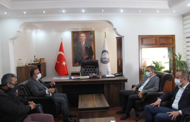 Chp Muğla Milletvekili Sn. Burak Erbay, Chp Ula İlçe Başkanı Sn. Hüseyin Özcan Ve Yönetimi Belediye Başkanımızı Ziyaret Etti