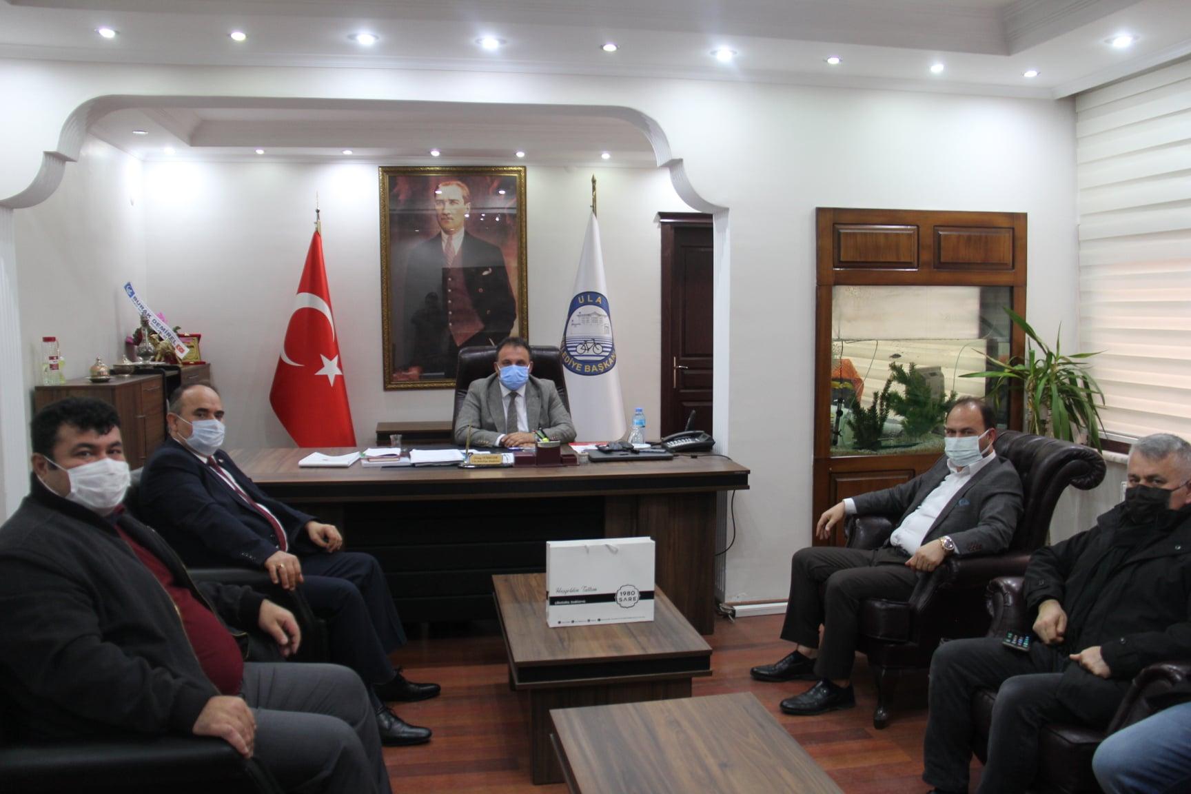 Ak Parti Menteşe İlçe Başkanı Sn. Eray Çiçek ve Mhp Menteşe İlçe Başkanı Sn. Talat Uğurlu Ziyaretimizde Bulundu