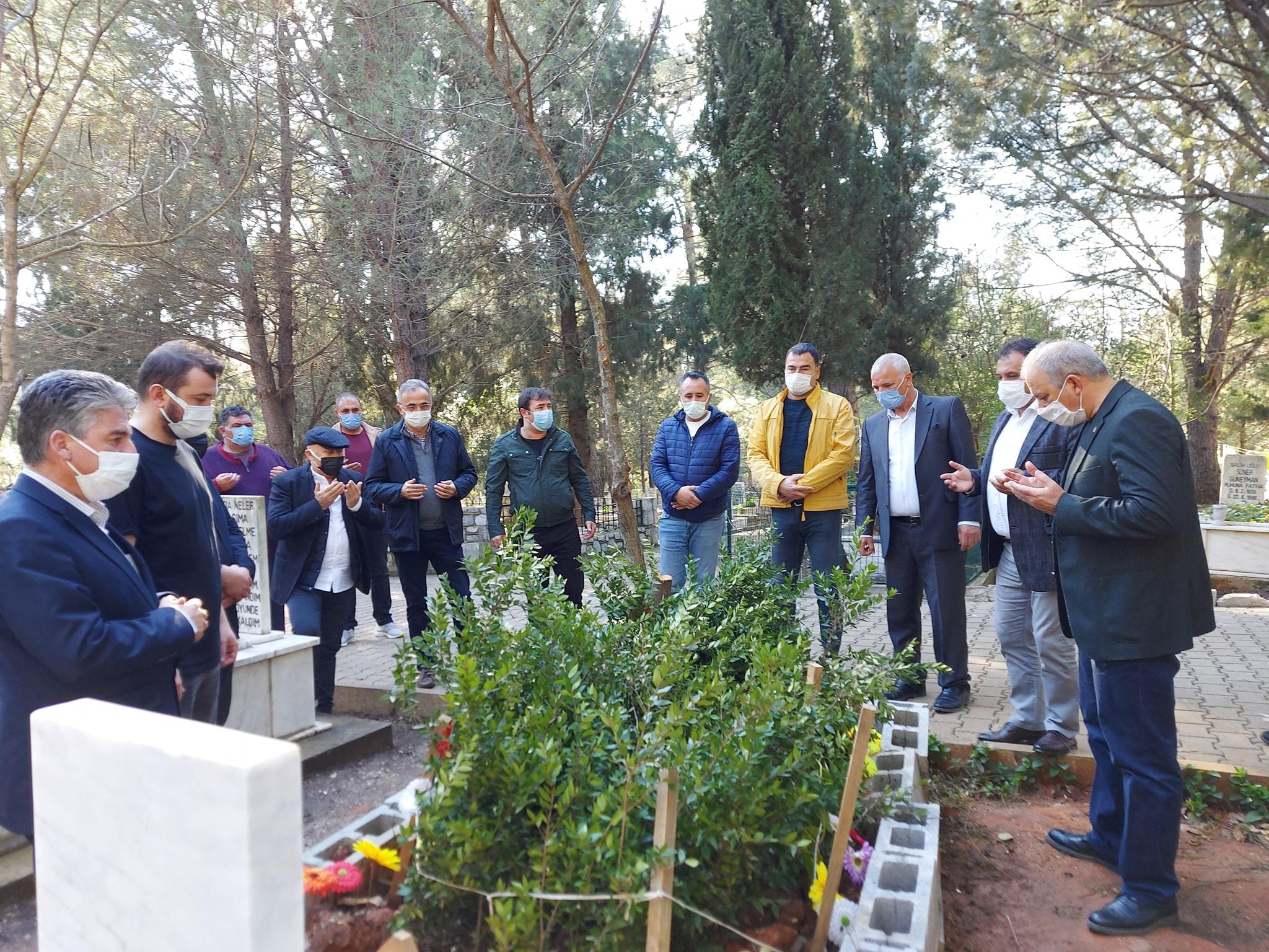 Merhum Belediye Başkanımız İsmail Akkaya'nın Vefatının 52. Gününde Düzenlenen Mevlid Programına Katıldık