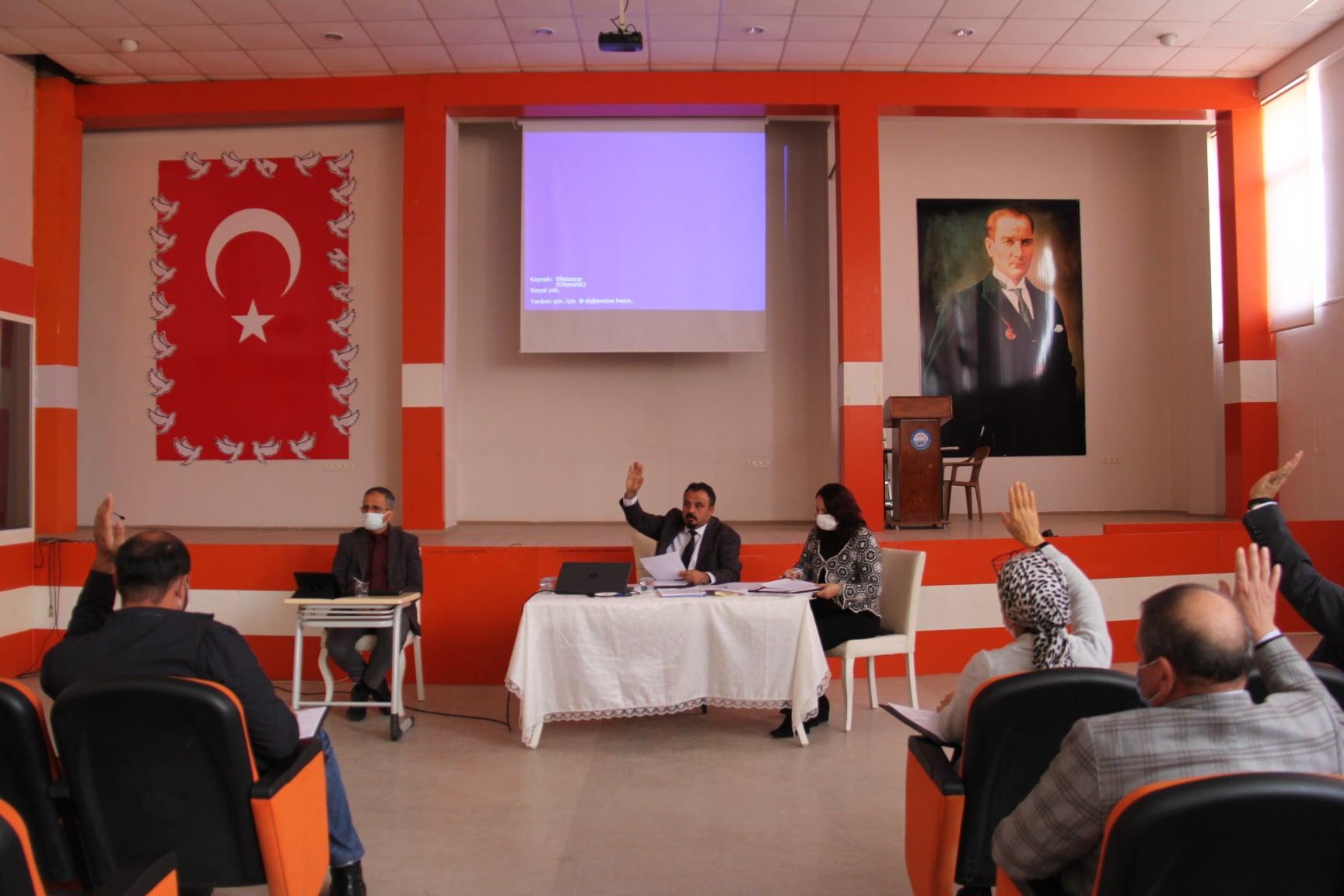 Belediyemiz Şubat Ayı Olağan Meclis Toplantısı Belediye Başkanımız Sn. Özay Türkler Başkanlığında Toplandı