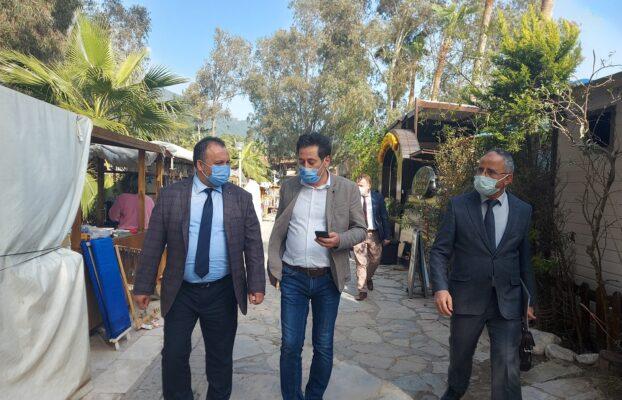 Belediye Başkanımız Sn. Özay Türkler ve Birim Amirlerimiz Akyaka Mahallemizde İncelemelerde Bulundu