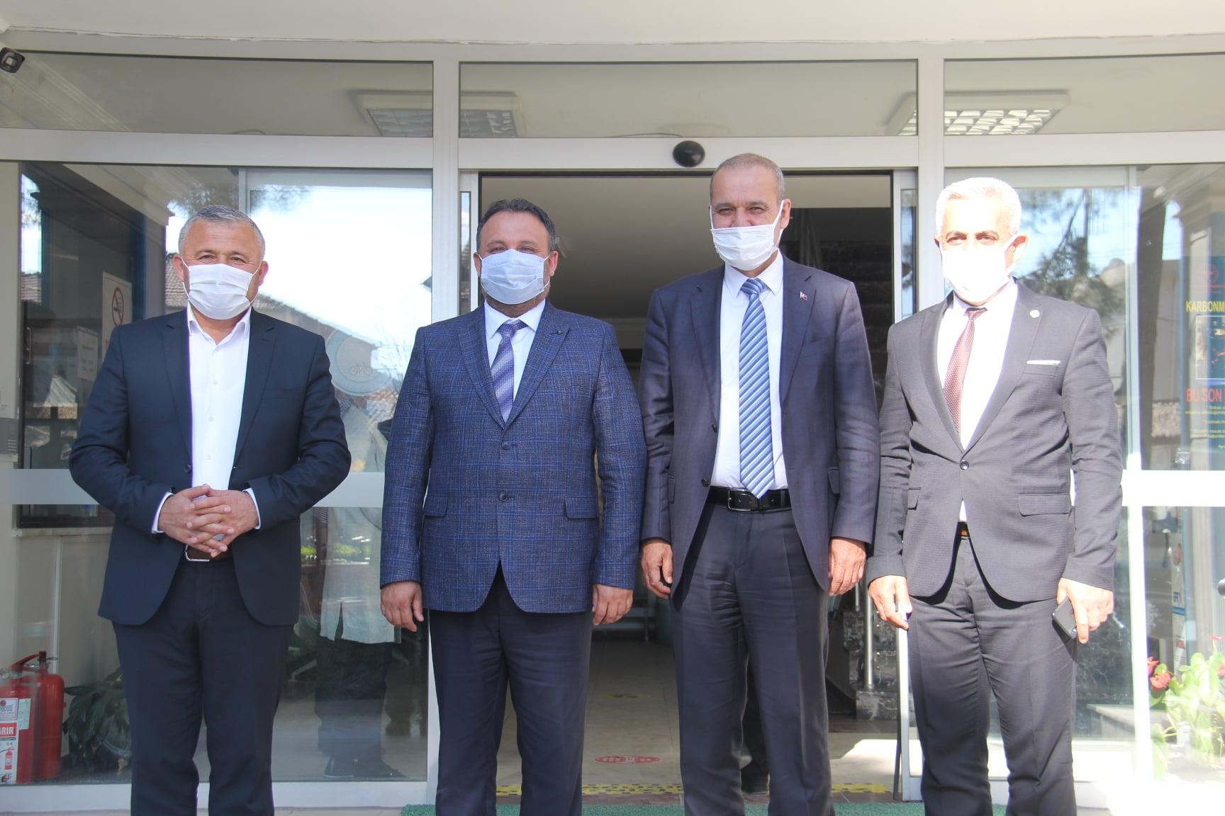 Dalaman, Kavaklıdere ve Ortaca Belediye Başkanlarımız Ziyaretimizde Bulundu