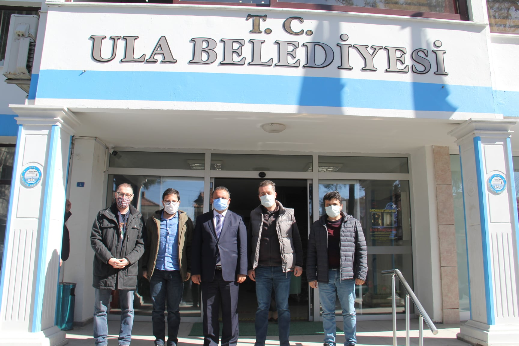Muğla İnşaat Mühendisleri Odası Yönetim Kurulu Üyeleri Belediye Başkanımız Sn. Özay Türkler'i Ziyaret Ederek Hayırlı Olsun Dileklerinde Bulundu