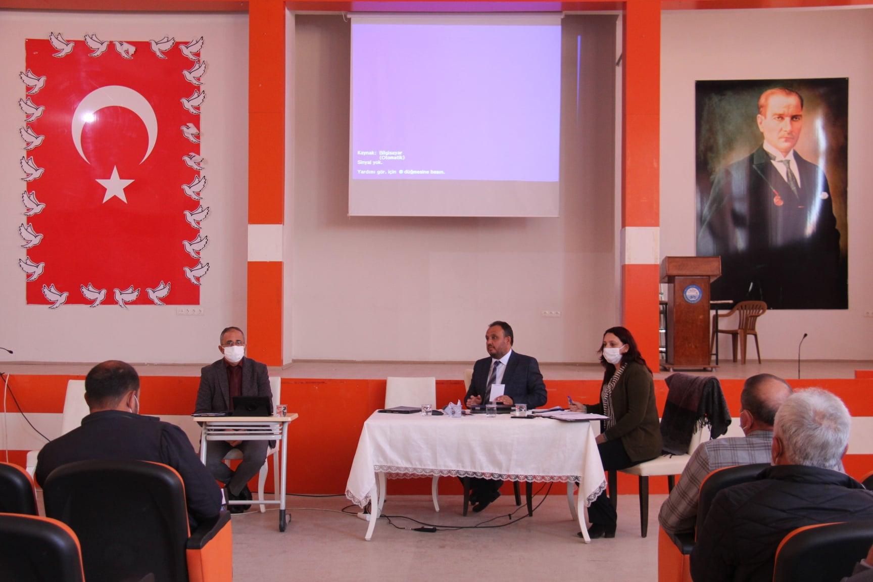 Belediyemizin Mart Ayı Olağan Meclis Toplantısı Belediye Başkanımız Sn. Özay Türkler Başkanlığında Gerçekleştirildi